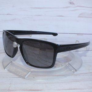 NEW OAKLEY SLIVER Sunglasses Metallic Black